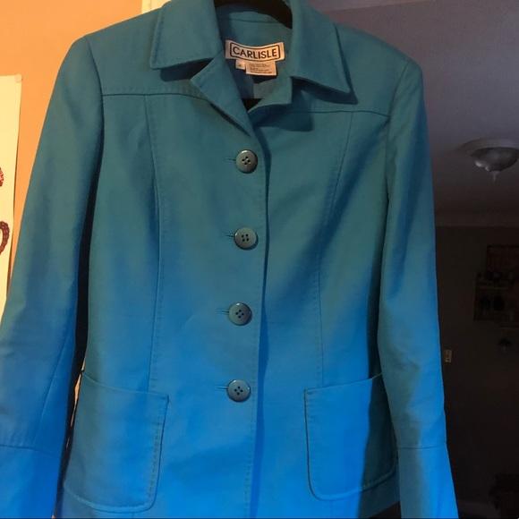 Carlisle Jackets & Blazers - Blue Blazer with Pockets!